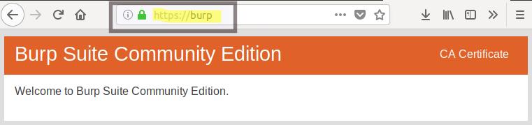 Importing Burp Certificate · GitBook